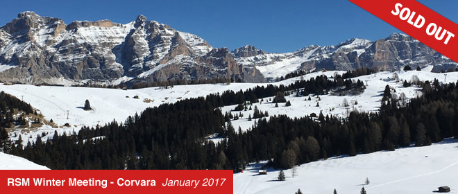 RSM Winter Meeting - Corvara